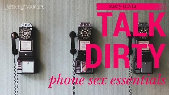 phone sex essentials
